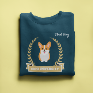 Sweater Corgi University